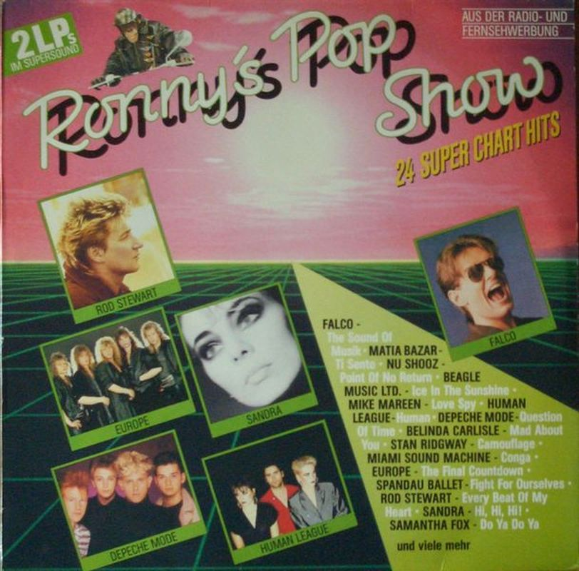Ronnys-Pop-Show-8-24-Super-Chart-Hits-Falco-Depeche-Mode-Berlin-2-LPS-1986